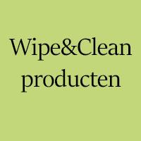 Wipe&Clean-producten
